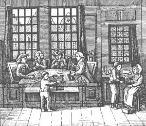 Keurkamer te Amsterdam, circa 1800